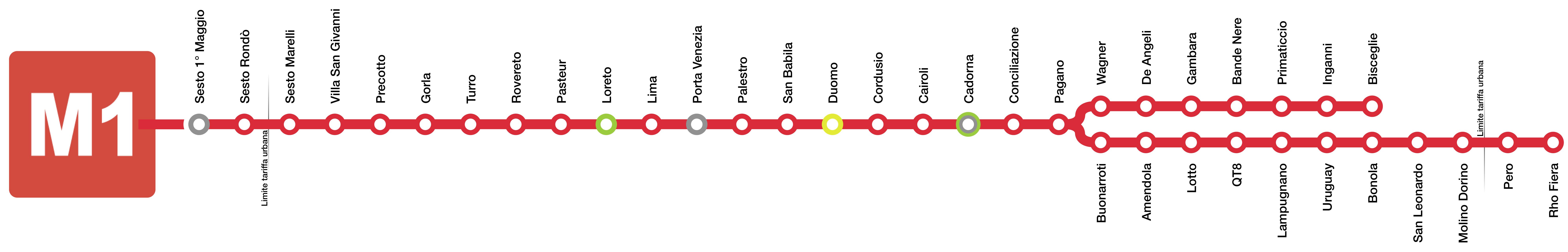 La mappa della metro di Milano e il crucipuzzle da ...