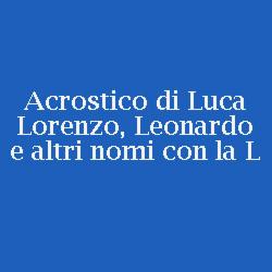 acrostico-leonardo-lorenzo-luca