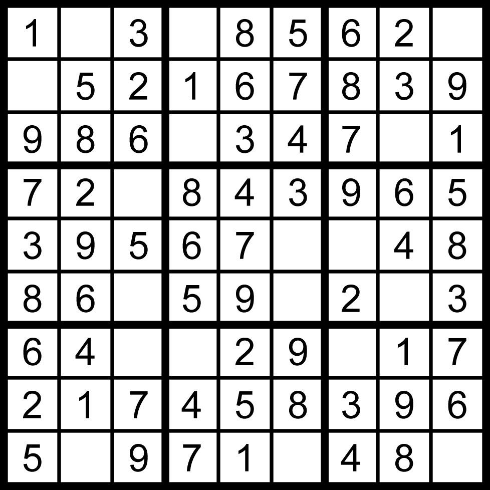 un facile sudoku da stampare per bambini iltuocruciverba