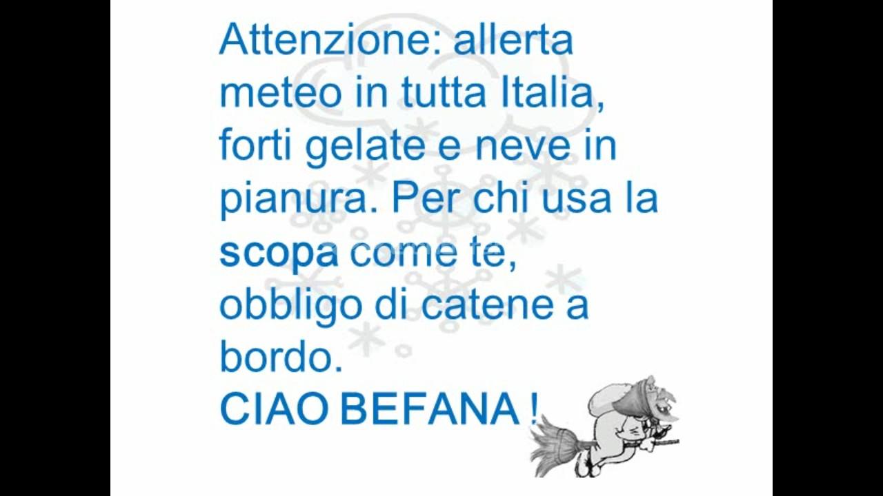la befana esiste solo in Italia