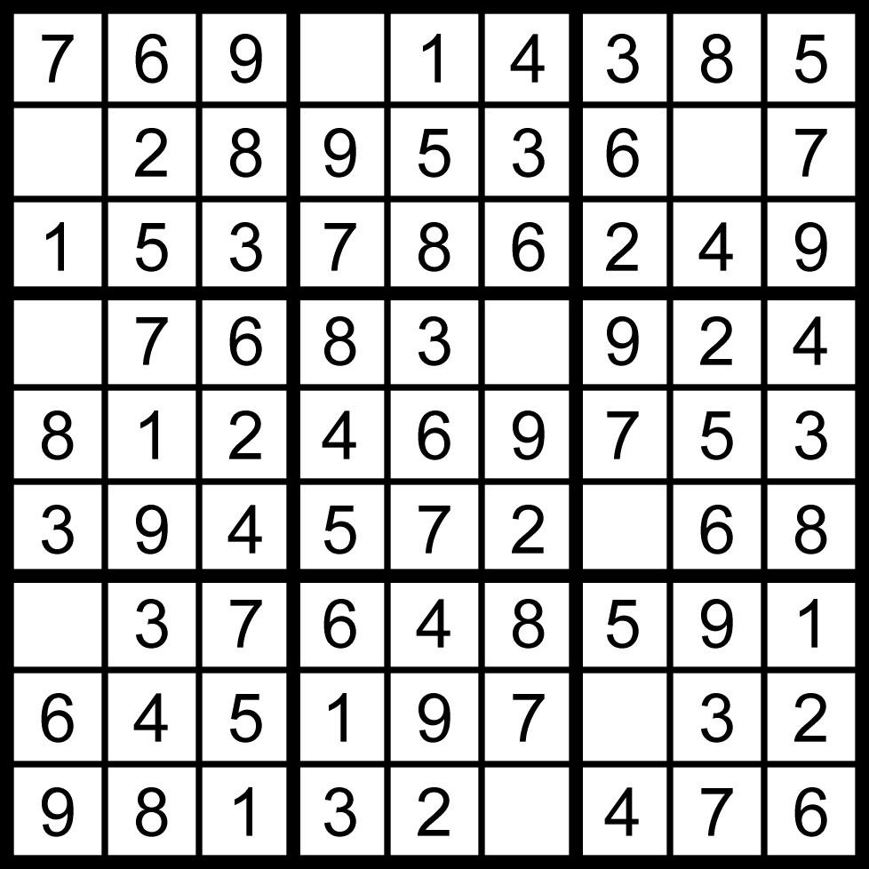 Sudoku per bambini e ragazzi a livelli di difficolt for Sudoku facile da stampare