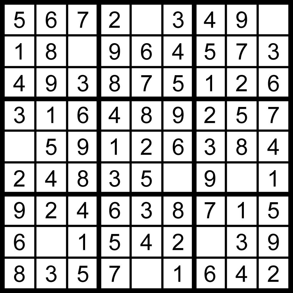 sudoku-difficoltà-1