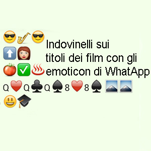 titoli film con emoticon