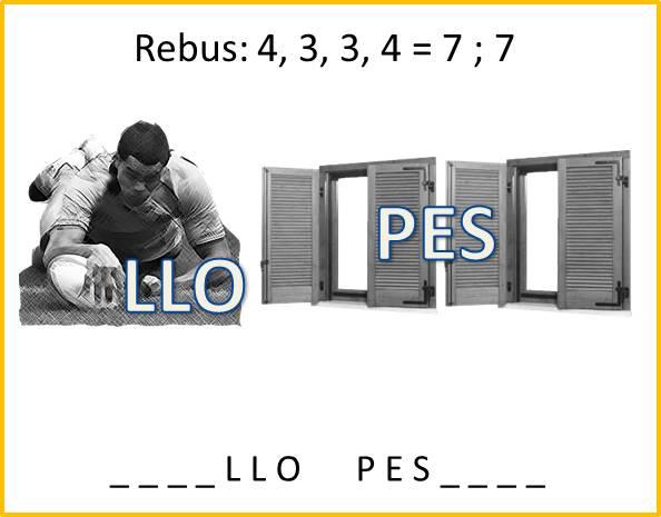 Rebus per bambini numero 4 iltuocruciverba for Rebus facili da stampare