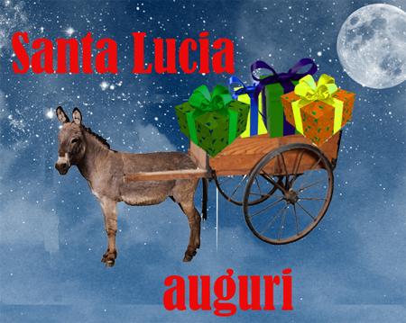 Immagini di auguri di Santa Lucia