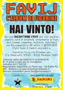 Panini_Collezione Favij Golden Card retro