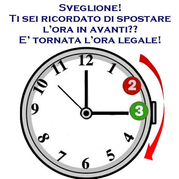 Immagini Divertenti Dell Ora Legale Per Whatsapp