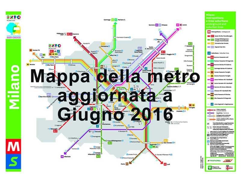 La mappa della metro di milano e il crucipuzzle da - Milano porta garibaldi passante mappa ...