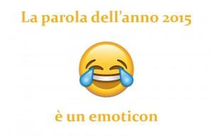 la parola dell'anno è un emoji