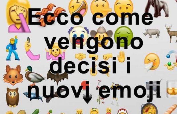 chi decide gli emoji nuovi