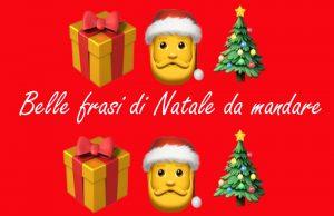 frasi belle di Natale