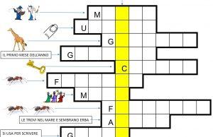 Cruciverba per bambini e ragazzi archivi iltuocruciverba for Enigmistica facile da stampare