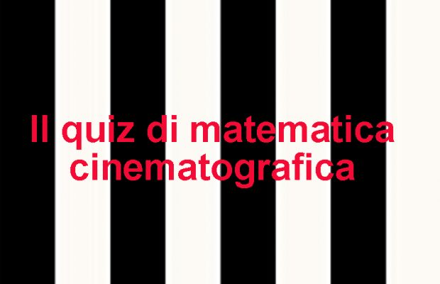 quiz di whatsapp di matematica cinematografica
