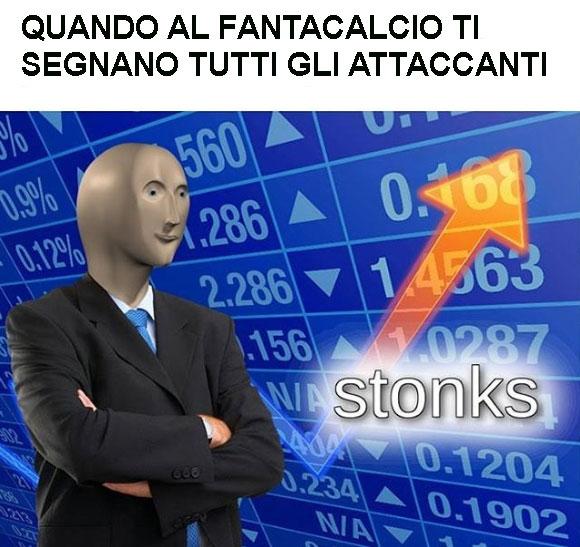 il significato di stonks