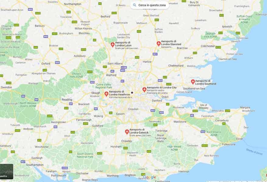 Cartina Aeroporti Londra.Le Sigle Degli Aeroporti Di Londra Iltuocruciverba