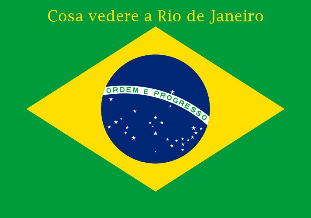 Un puzzle di viaggi su Rio de Janeiro