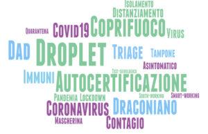 il dizionario delle parole del coronavirus