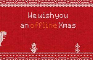 il video di offline christmas virale su whatsapp