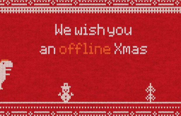 il video di offline christmas virale su whatsapp