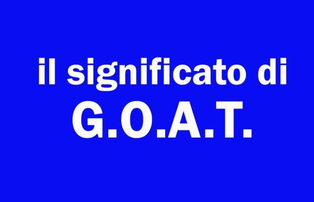 significato di goat